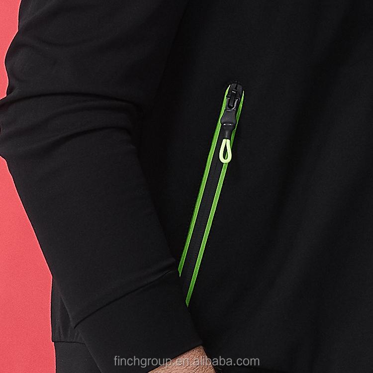 Apparel stock men's hoodies jacket printed zipper hoody jacket sweatshirt zip up black hooded jackets