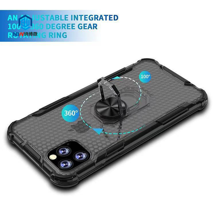 High quality TPU shock proof smart mobile phone case car magnetic ring holder cell phone case for iphone 11 Pro MAX back cover