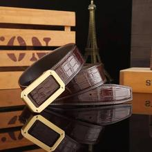 Fashion Luxury Genuine Crocodile skin Men's Leather <strong>Belts</strong> ,Luxury Men's <strong>Belts</strong>