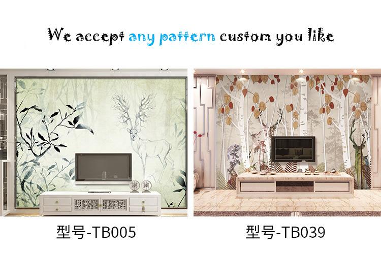 3d vinyl wall sticker decorative plastic wallpaper