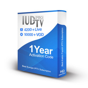 1 Year IPTV IUDTV PRO Subscription Live European Sports Channels for IPTV Account Reseller EX YU