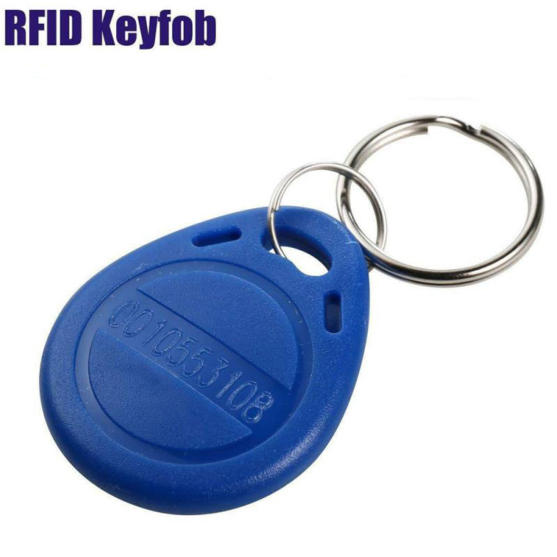 Access control <strong>card</strong> 125khz RFID TK4100 Key Fobs/ key Tags Keychain manufacturer in China