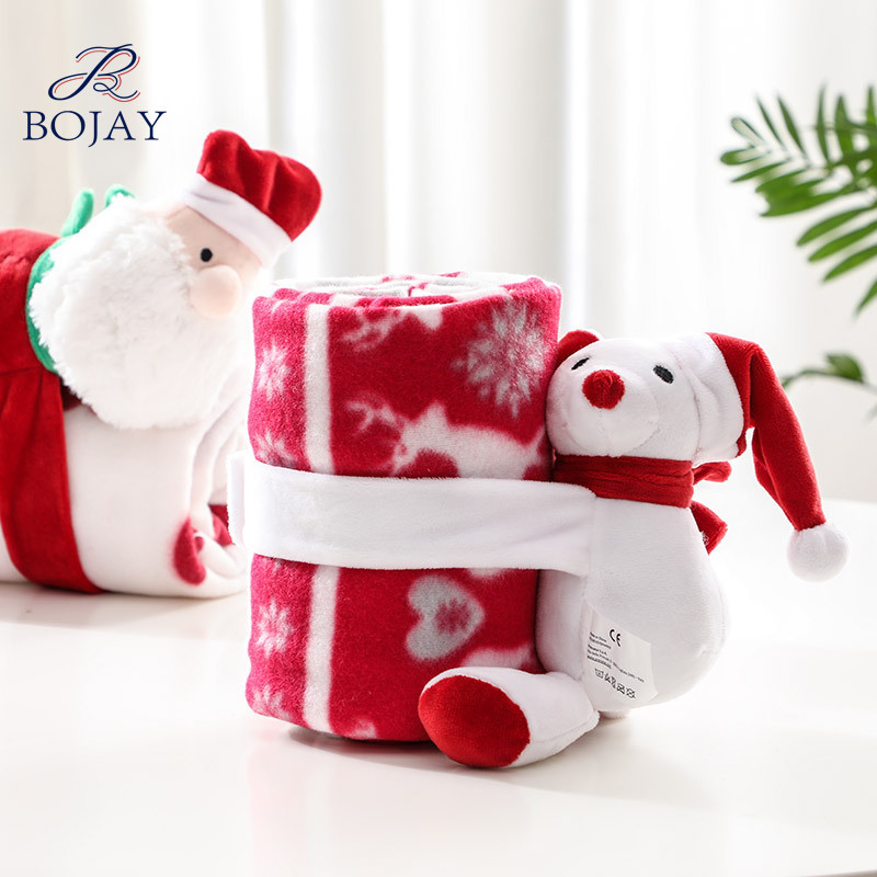 Best Selling 75*100cm Very Soft Christmas Gift 200gsm Polar Fleece Blankets for <strong>Baby</strong>