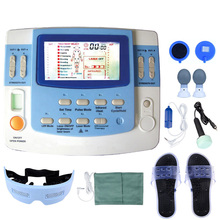 Integrated Physical Therapy With Ultrasound Tens &amp; Ems Physiotherapy <strong>Equipment</strong> 7 Channels With laser and sleep function