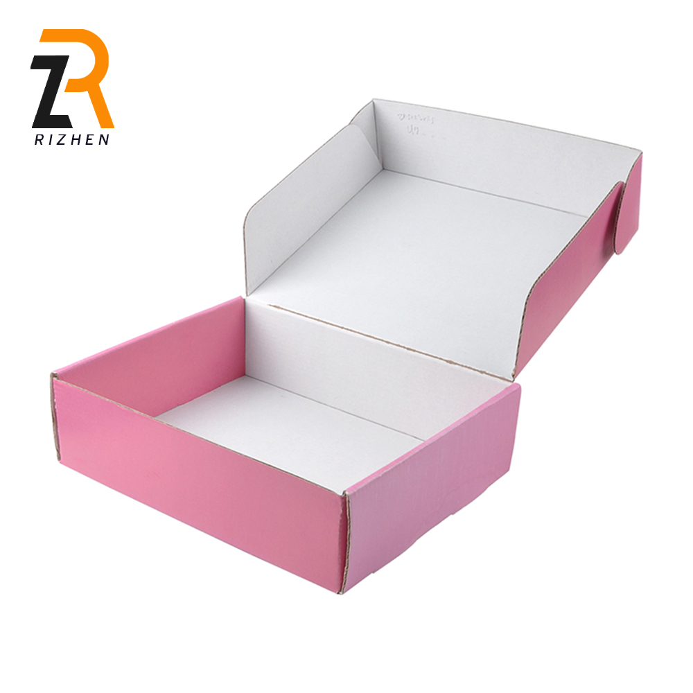 eco friendly folded type packaging products corrugated packing cardboard paper box