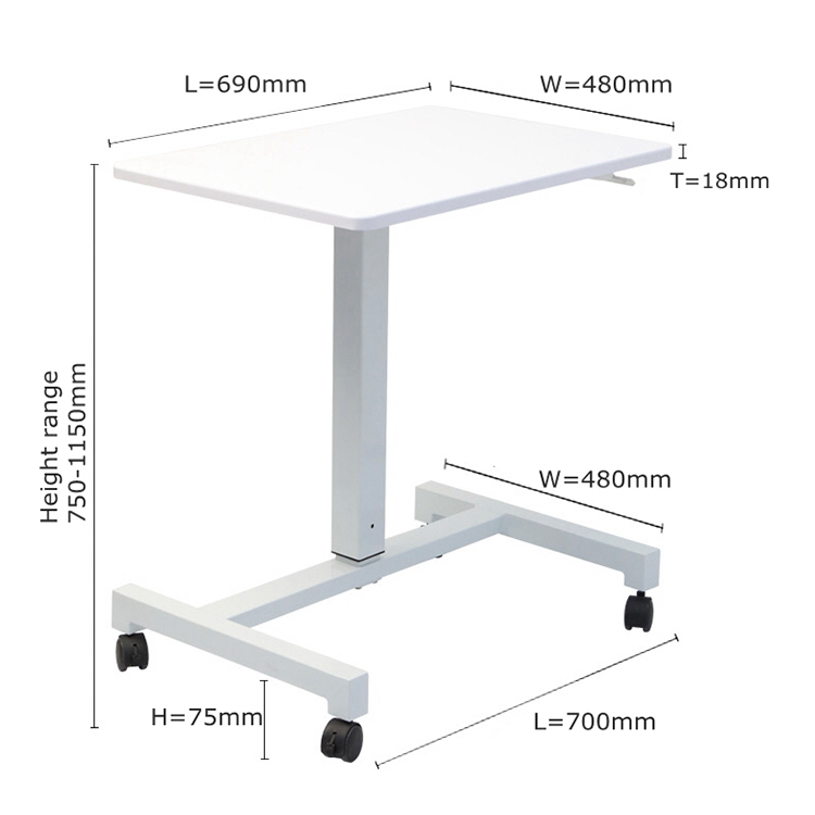 Laptop Stand Desk Computer Notebook Bed Table