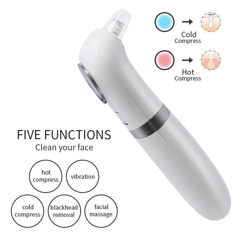 New arrival 2020 Silicone ultrasonic skin Scrubber Exfoliator Face Lifting Tool  Face Spatula blackhead reover deep Cleansing