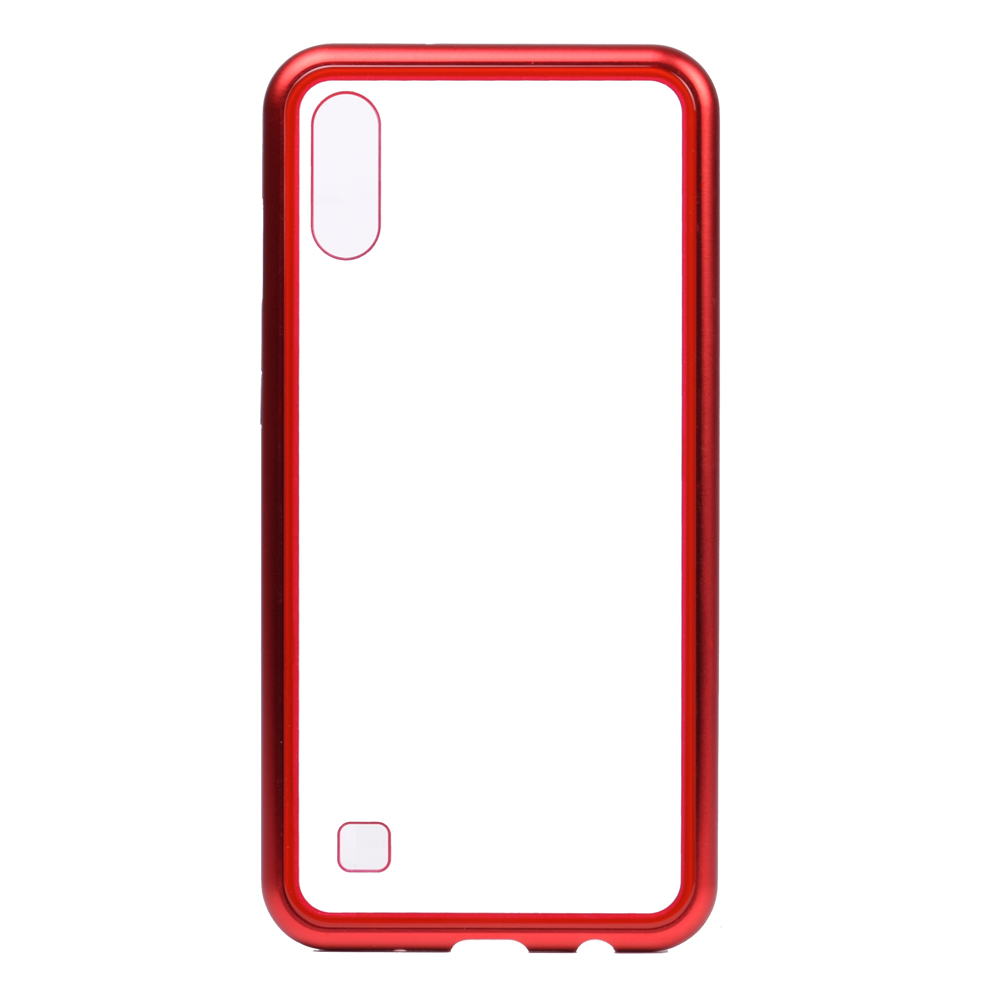 Magnetic cell phone cases hot sale products Tempered glass Phone Case Flip Back Cover For Samsung galaxy <strong>A10</strong>