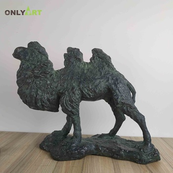 Family Decorate Bronze Camel Sculpture For Sale