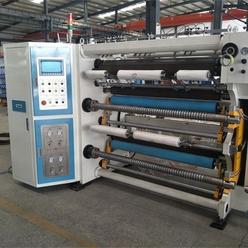slitter rewinder machine for bopp 1300mm cutting machinery for rolling films
