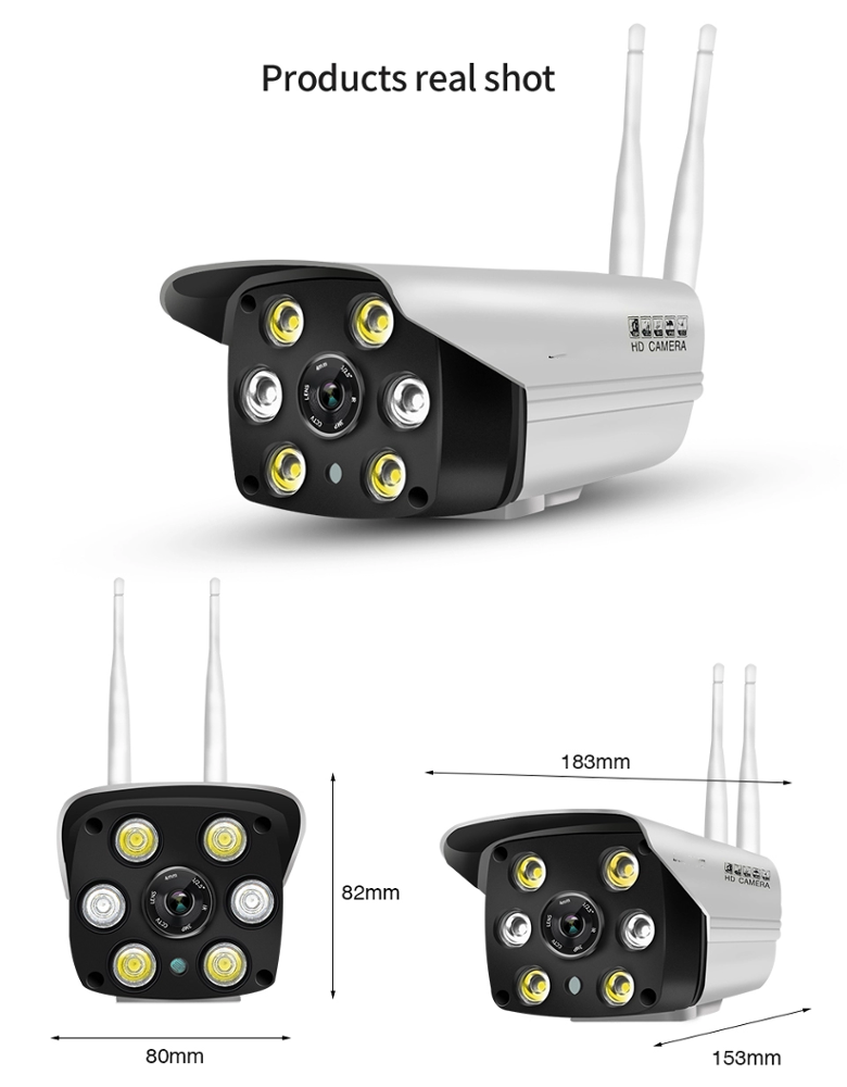 960p full color outdoor night vision wireless wifi hd ip <strong>security</strong> cmos p2p network camera