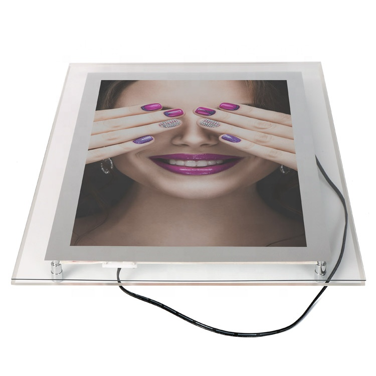 photo <strong>frames</strong> with led light ,slim acrylic crystal led <strong>frame</strong>