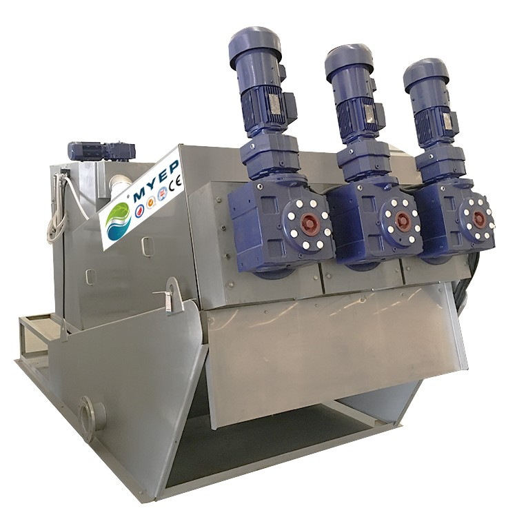 Sales Service Provided Volute Screw Press Sludge Dewatering Machine <strong>Water</strong> Purification <strong>System</strong>
