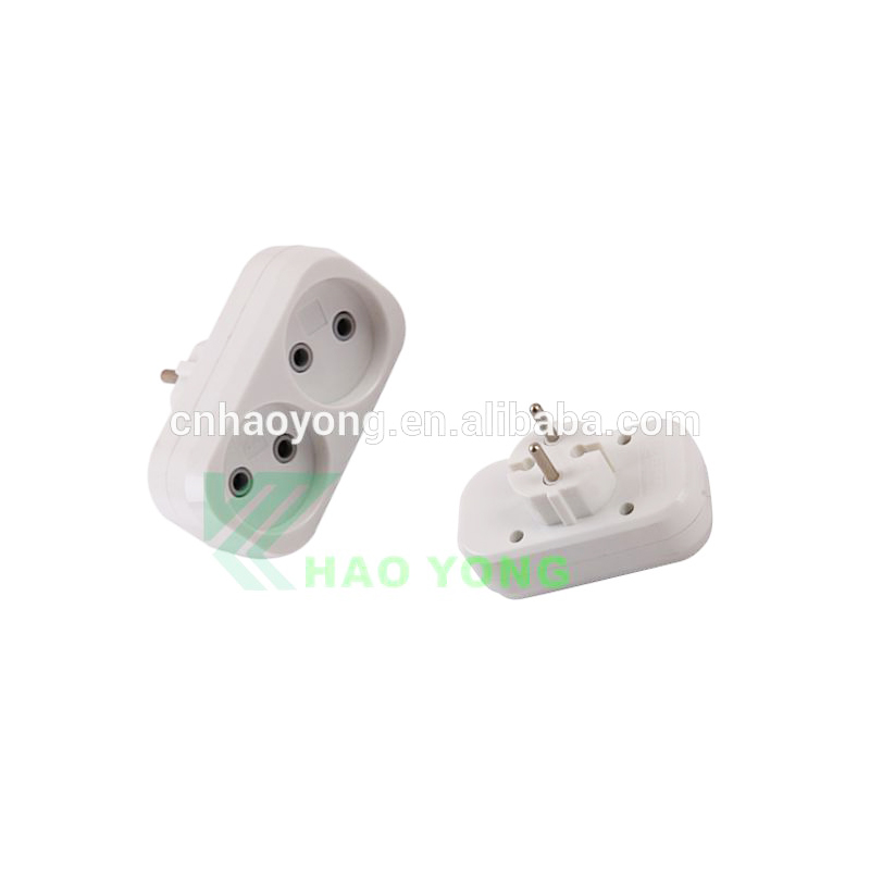 2 pin round pin 220V European standard <strong>power</strong> conversion <strong>plug</strong>