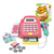New product shopping cart toys pretend play cash register table