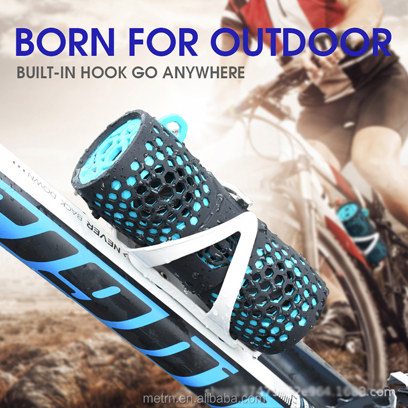 2020 portable powerful bass wireless waterproof speaker for sports