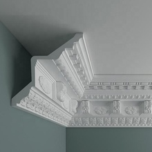 Light weight and quick install polyurethane cornice <strong>moulding</strong> OZ-A220