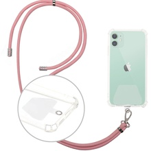 Promotional Gift retractable neck strap lanyards <strong>Mobile</strong> Necklace Crossbody rope keychain pink woven lanyard <strong>phone</strong> holder