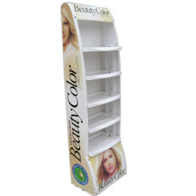 plastic Cosmetic display stand for cosmetics with thermoforming vacuum forming