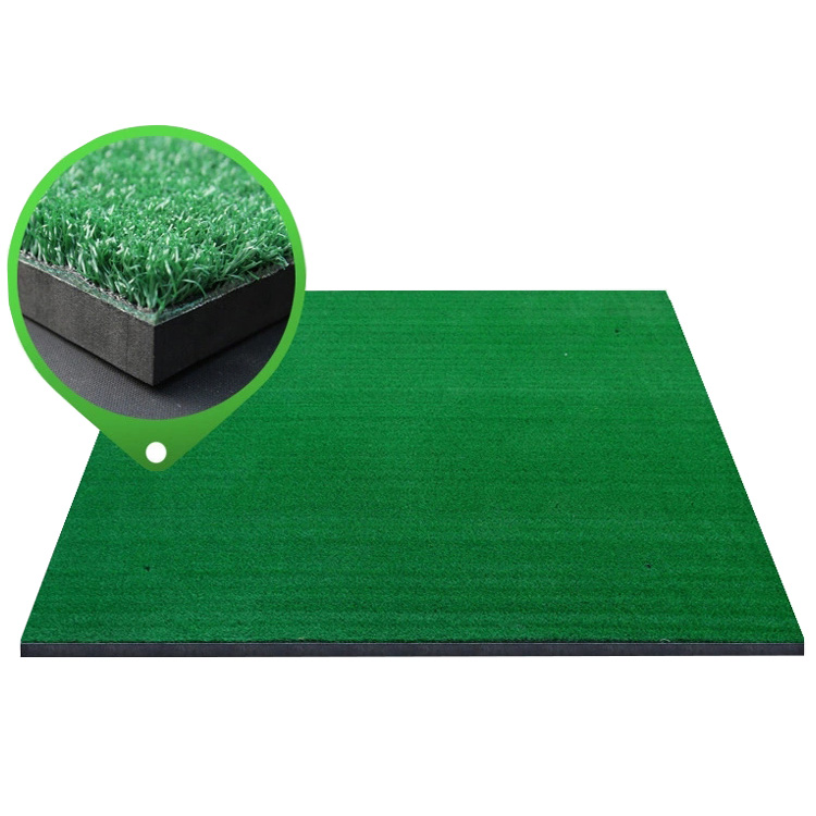 Golf driving range practice hitting mat Tri-Turf Golf Hitting Mat Portable Driving, Chipping, Training Aids for Back