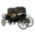 Luxury four wheels sightseeing horse wedding carriage