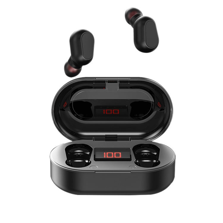 High Quality Electronic Bluetooth True Wireless Earphone Headphone Wholesaler Earbuds LCD Digital Display TWS