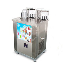 High quality automatic stainless steel 2 mold popsicle ice cream lolly making machine small factory price