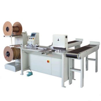 Automatic Double Wire Binding Machine with no Change the Mold Double Wire O Machine