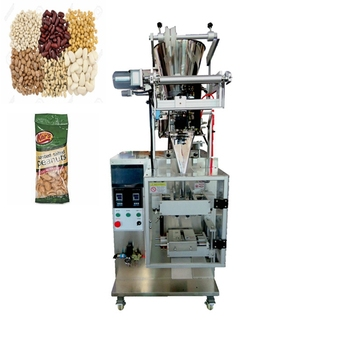 Small scale multi-function Back Sealing Pillow Bag Price of Sugar Pill Grain Small Candy Packaging Machine Automatic