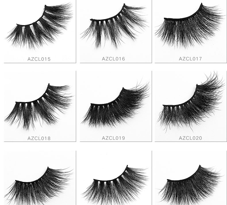 Cross-Border Specialized Supply  5D Exaggeration Sell Well Lengthen Three-Dimensional 25MM Mink Eyelashes