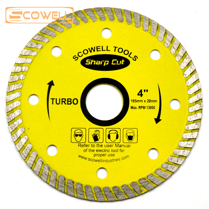 4 inch Turbo diamond cutting disc for marble Tile diamond saw <strong>blades</strong> super thin
