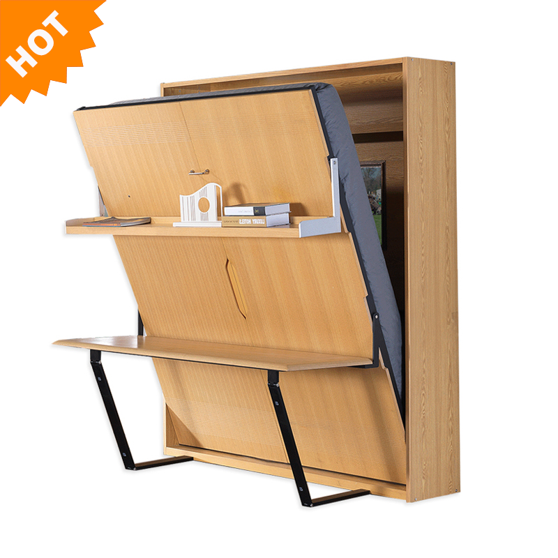 Murphy <strong>Bed</strong> With Desk Multifunction Vertical Folding Wall <strong>Beds</strong> wood +<strong>beds</strong> with wardrobe