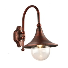 Post Wall Amount Lamp Type Outdoor Hanging Wall Lantern With LED Light <strong>Bulb</strong> Included E27