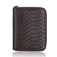 Wallet Fashion Luxury Original Pure Leather Mens For Man Men Black Minimalist