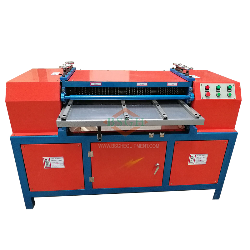 March Expo Hot sales BS-1200P industrial copper radiator separator machine air conditioner radiator recycling <strong>equipment</strong>