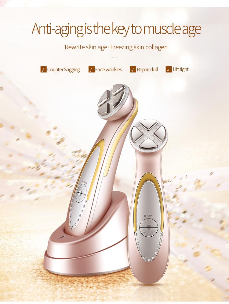 5 1 다기능 아름다움 장비 아름다움 피부 기계 electroporation