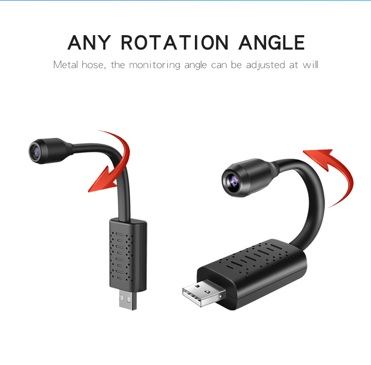 WIFI USB Camera Smart Surveillance Wireless CCTV Camera Flexible Bracelet Surveillance Mini USB Camera