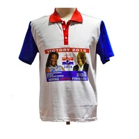 2020 Ghana cheap campaign polo shirt, election collar and promotion polo t shirt for men