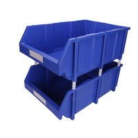 Low Min Order Qty More Thicker Heavy Load Capacity Plastic Storage Bin Stackable