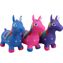 Jumping Hopping Ride-on Bouncy Animal Inflatable Kids Toy