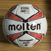 pelotas de futbol No.5 molten inflatable custom logo training thermal bonded soccer ball