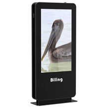 Wireless HD Program LCD Display 32 Inch Angin Berpendingin Layar Vertikal Landing Outdoor Mesin Iklan Digital Photo Frame
