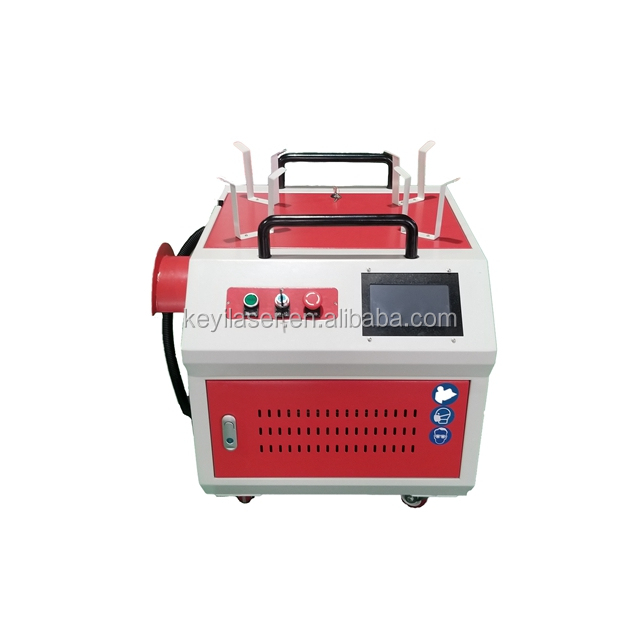 China Best Factory Product Rust Removal 100 <strong>W</strong> 200 <strong>W</strong> 500 <strong>W</strong> <strong>1000</strong> <strong>W</strong> Laser Cleaning Machine Hot Sale in Europe