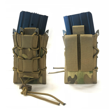 Ak 1000D Nylon Customized Universal Pistol Airsoft Army Tactical Magazine Drop Carrier Pouch Military Tactical Double Holster