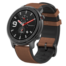 Global Version Xiaomi Amazfit GTR 47mm AMOLED Screen 24 Days Battery Life GPS 50ATM waterproof <strong>Smart</strong> <strong>Watch</strong>