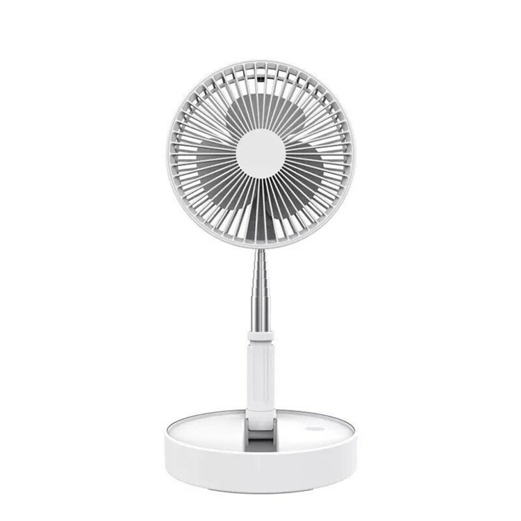 Folding Telescopic Electric Mini Fan USB Rechargeable Portable office Desktop