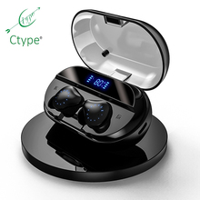 Ctype <strong>X10</strong> Tws Earphone &amp; Headphone Sports Headset Running Fitness Wireless Earbuds Bluetooth Earset
