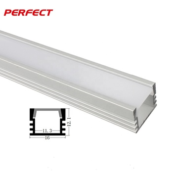 Square LED Aluminum Channel Profile for LED Strip Lights Bar Light