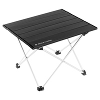 Rock Cloud portable camping table aluminum folding table ultra light camping table for outdoor camping and hiking.
