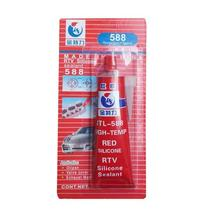 100g Strong <strong>adhesive</strong> glue high temperature sealant RTV red fastening glue for car Motor Gap seal repair tools